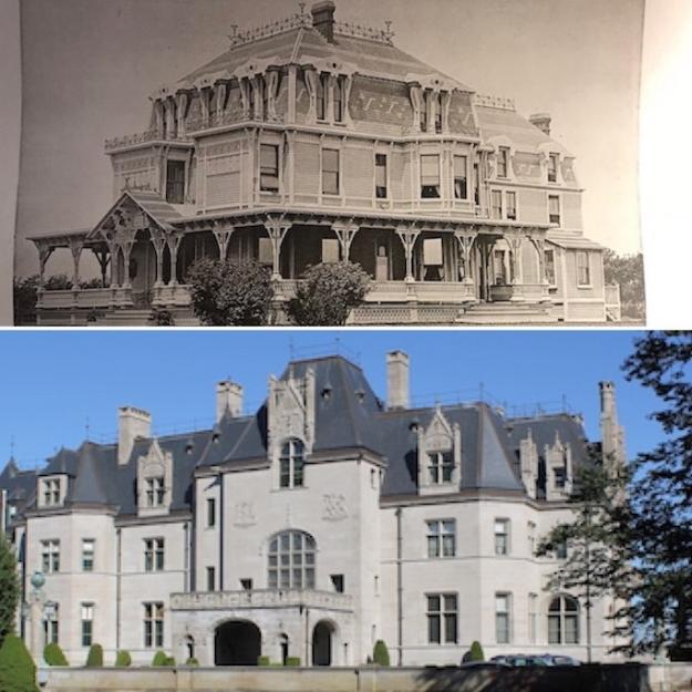 Edgewater (top) Ochre Court (bottom)