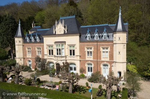 The Dyer-Edwards chateau in Normandy