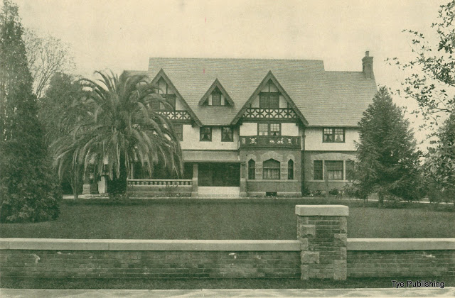 The Clark residence on West Adams Street in Los Angeles