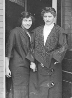 Jean Hippach and her mother Ida
