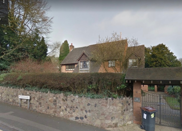 Hipkins'former residence on Augustus road in Birmingham
