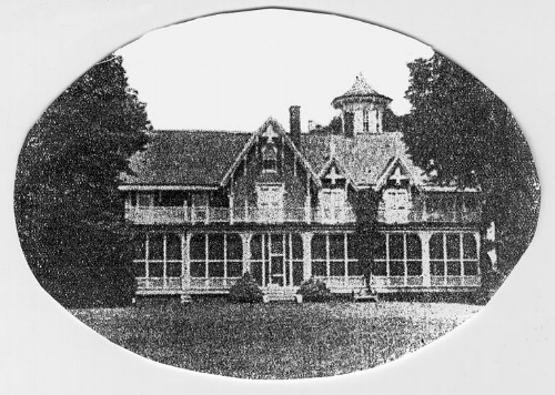 Julia's fathers home in Mamaroneck