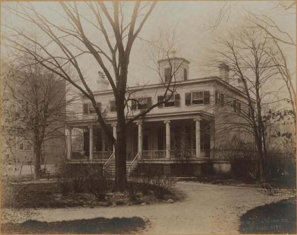 Rev. Peters House, 2648 Broadway photo: MCNY