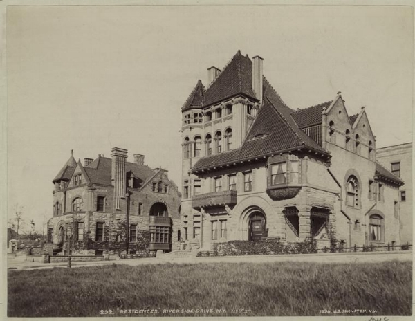 a photo of Baynes mansion showing his earlier home right across the strret