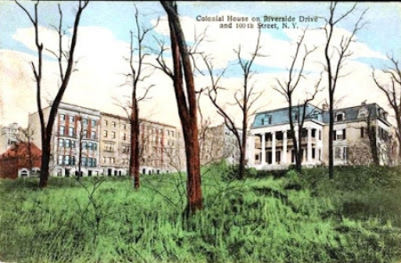 postcard of the Furniss mansion in the early 1900s