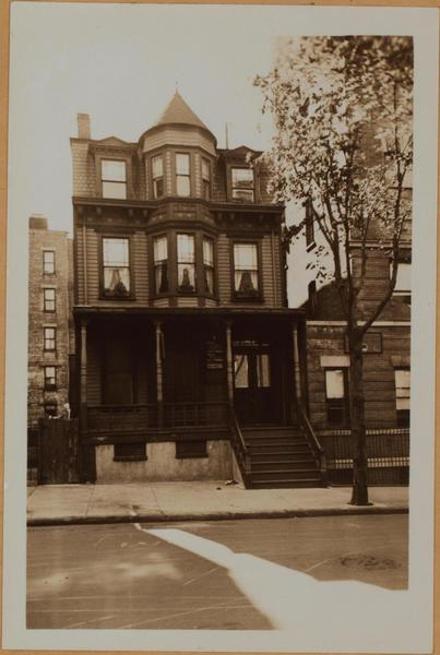 466 West 156th street photo: MCNY archives