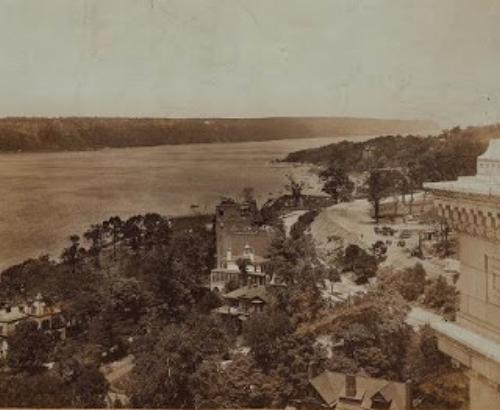 View of Audubon Park homes in the early 1930s