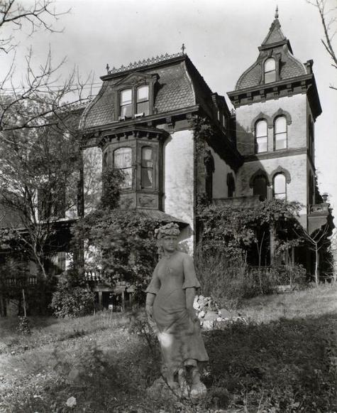 The Wheelock mansion, 1937