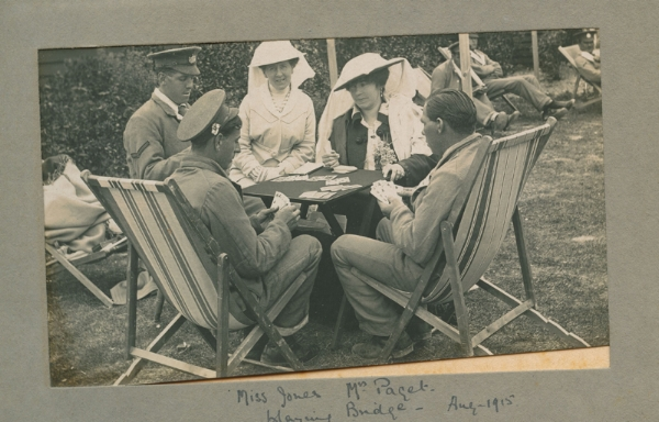 Before her own life was cut short, Pauline was a tireless volunteer during the Great war