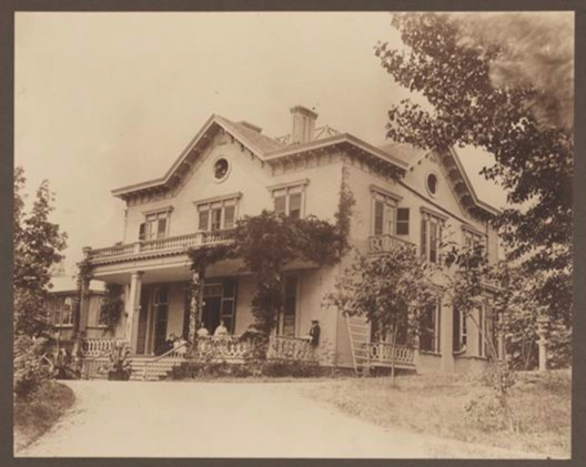 The Augustus Smith House on 175th street