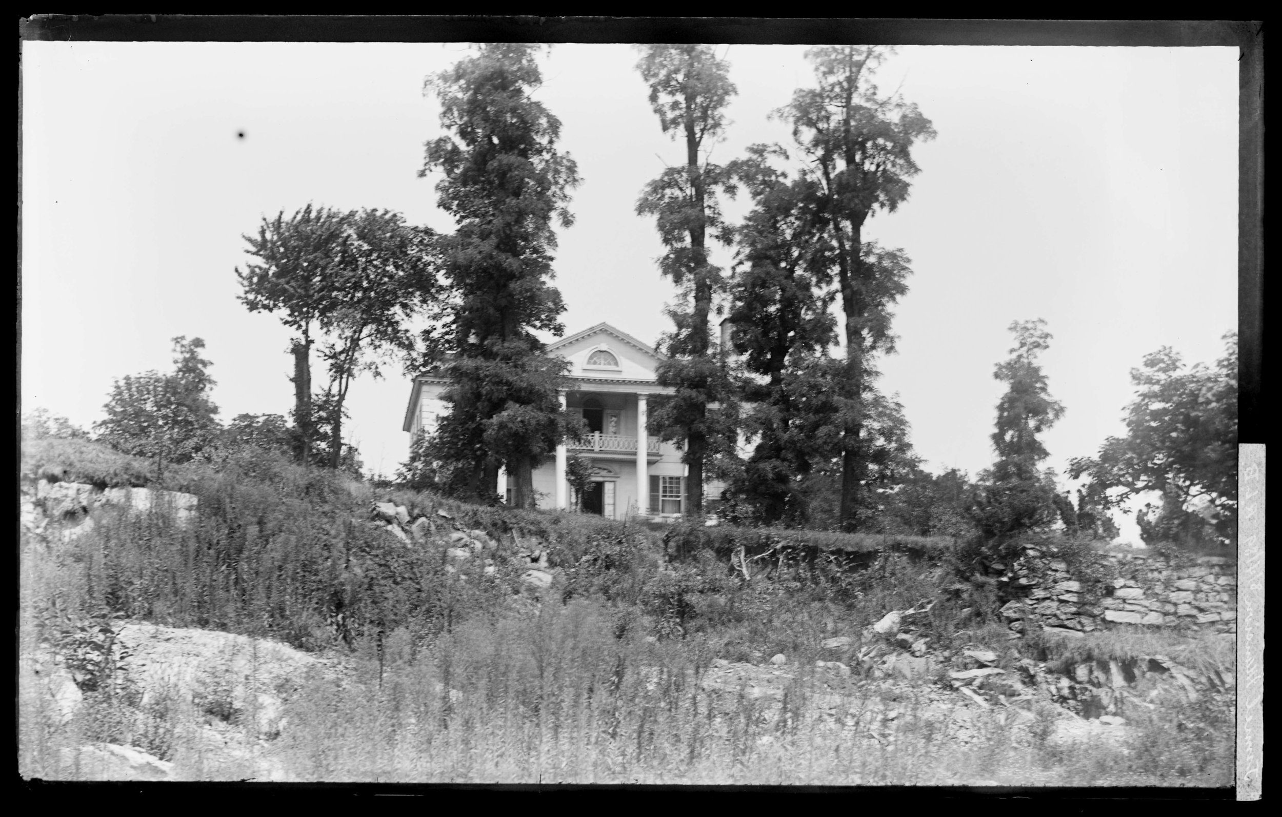 The Morris Jumel mansion, built in the 1760s and still standing today