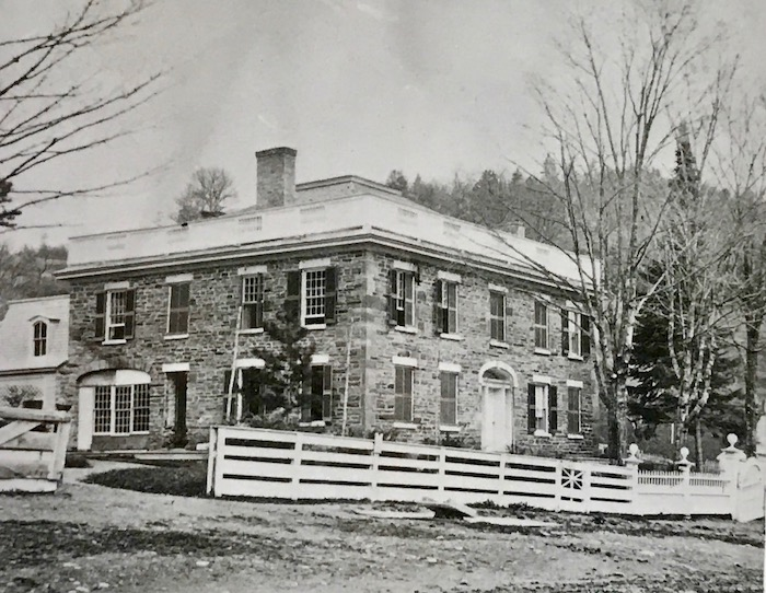 Stone Hall, later Marcy Hall photo: Fenimore Art Museum Library, Cooperstown, NY, Florence Ward Local History Collection