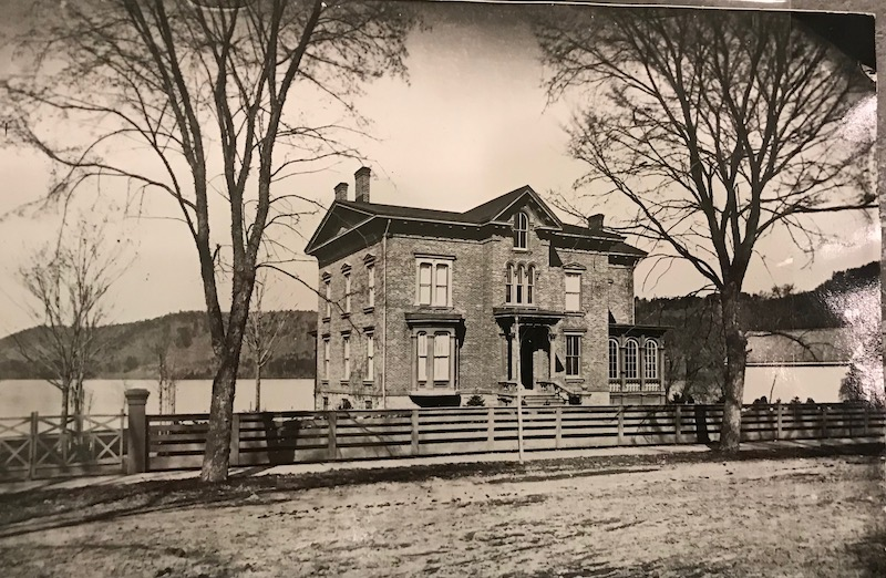 An early view of Glimmerview photo: Fenimore Art Museum Library, Cooperstown, NY, Florence Ward Local History Collection