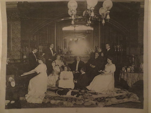 Rev and Mrs PAH Brownand family at Holt Averill photo: Fenimore Art Museum Library, Cooperstown, NY, Florence Ward Local History Collection