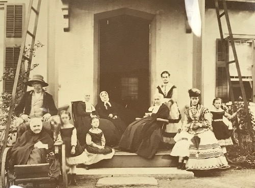 Mrs. Morehouse and her family photo: Fenimore Art Museum Library, Cooperstown, NY, Florence Ward Local History Collection