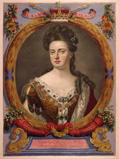Anne as Queen