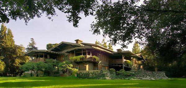 A Greene and Greene home in Pasadena