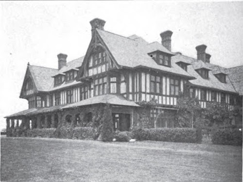 Wooldon Manor, Mrs Donahue's former home in Southampton