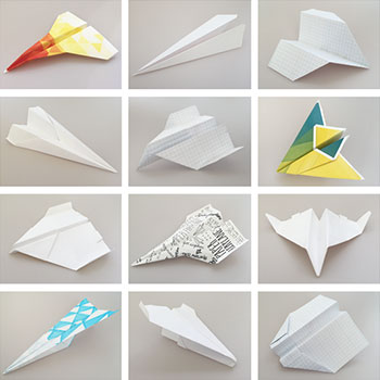 Experiment: In an homage to Howard Gossage, we tested the flight characteristics of various paper airplane designs, and declared a definitive winner.  Lesson: Creativity means adapting to conditions.   #100tinyexperiments     #ChemistryClubSF