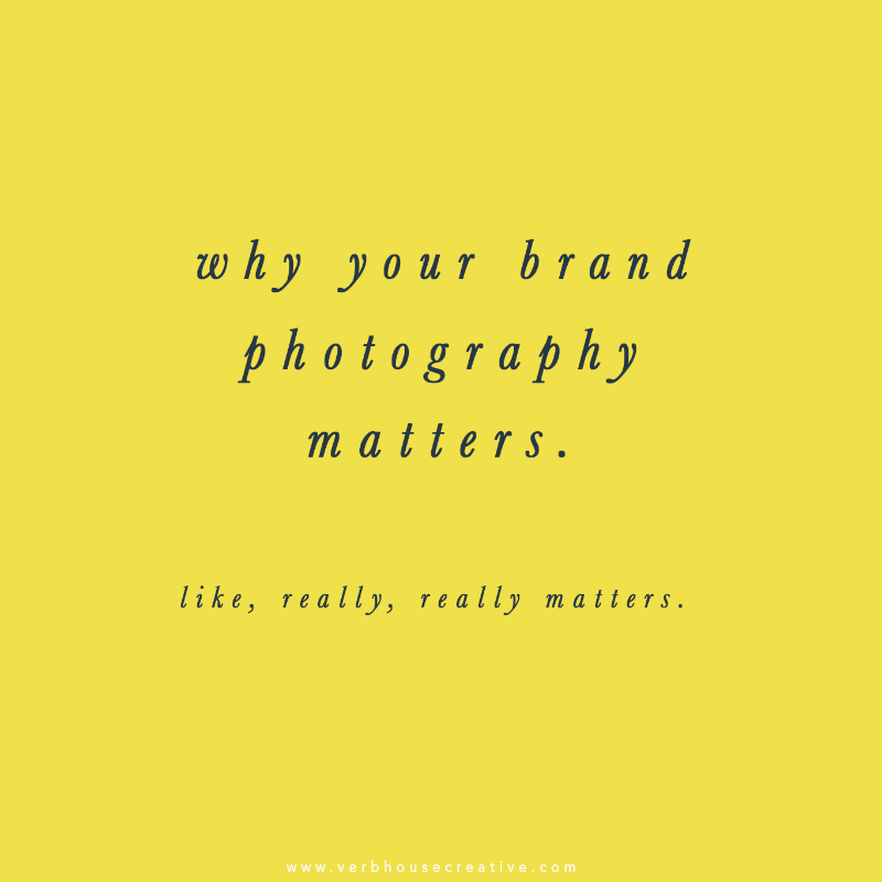 Why Your Brand Photography Matters