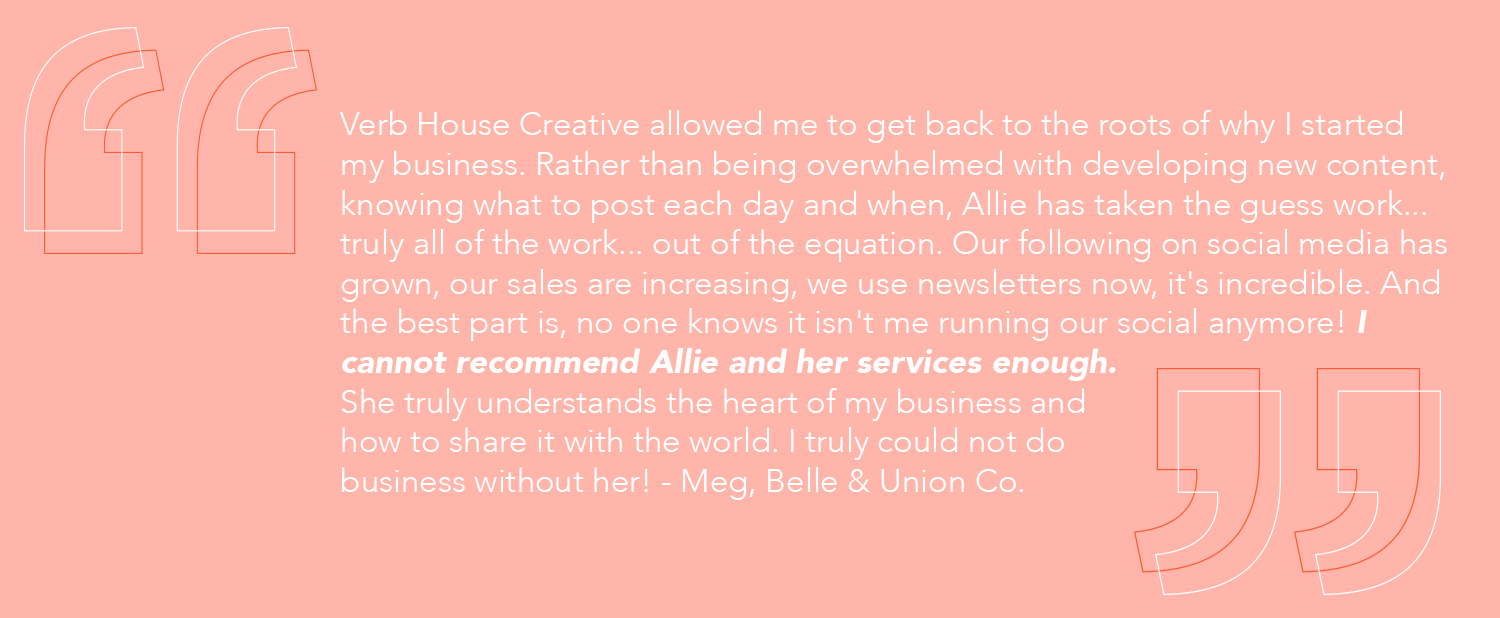 Belle & Union Co. for Verb House Creative