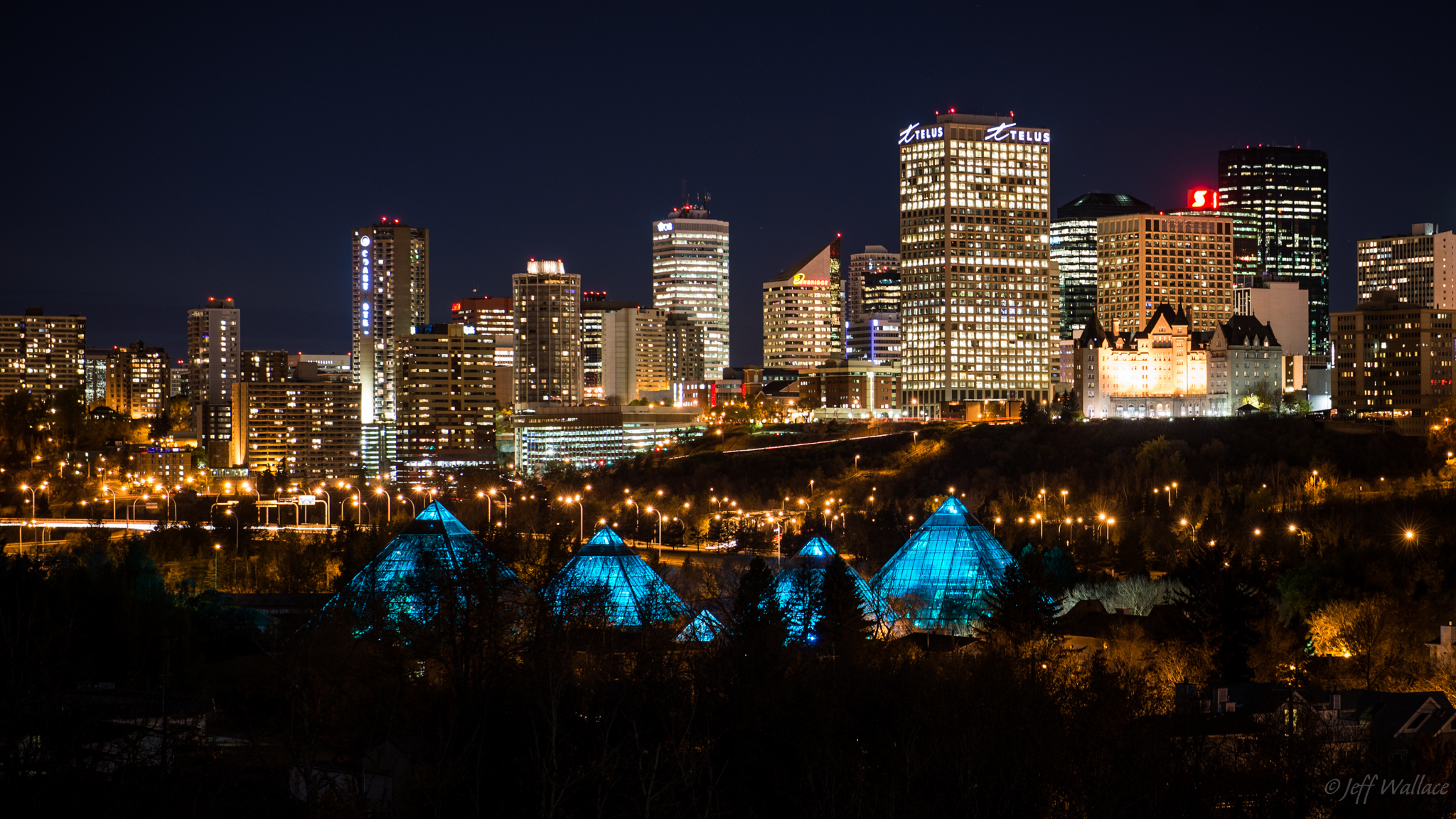 Edmonton Skyline by Jeff Wallace from Flickr