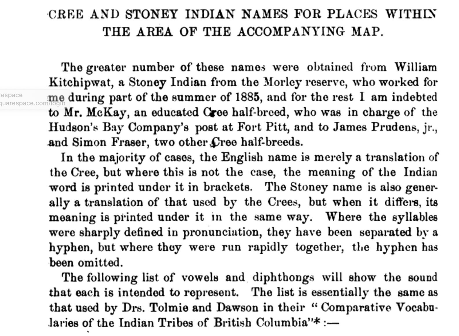 From Report E, Appendix IV, pp 172E.