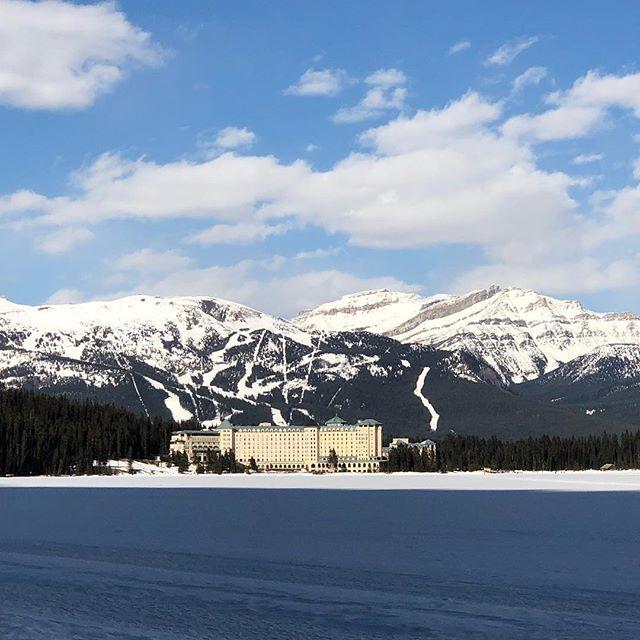 Banff, you're beautiful. (You, too, Lake Louise) 🏔