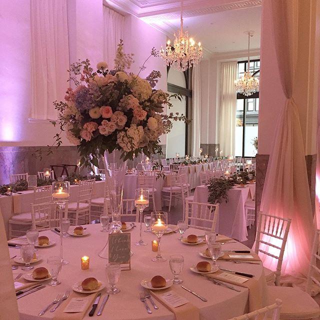 Absolutely beautiful wedding tonight! @drapeartdesigns @emeryscatering