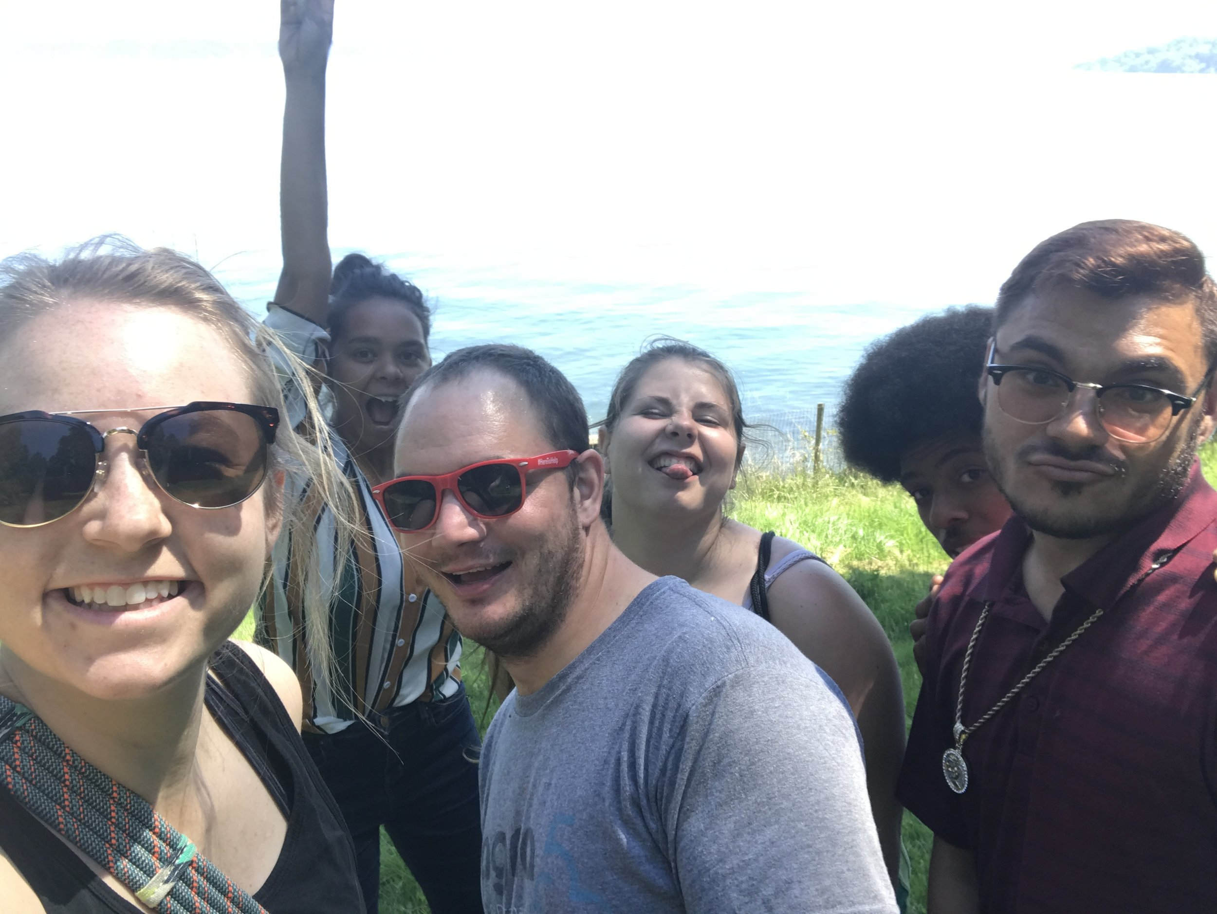 We took a ferry to Vashon Island to hike around!