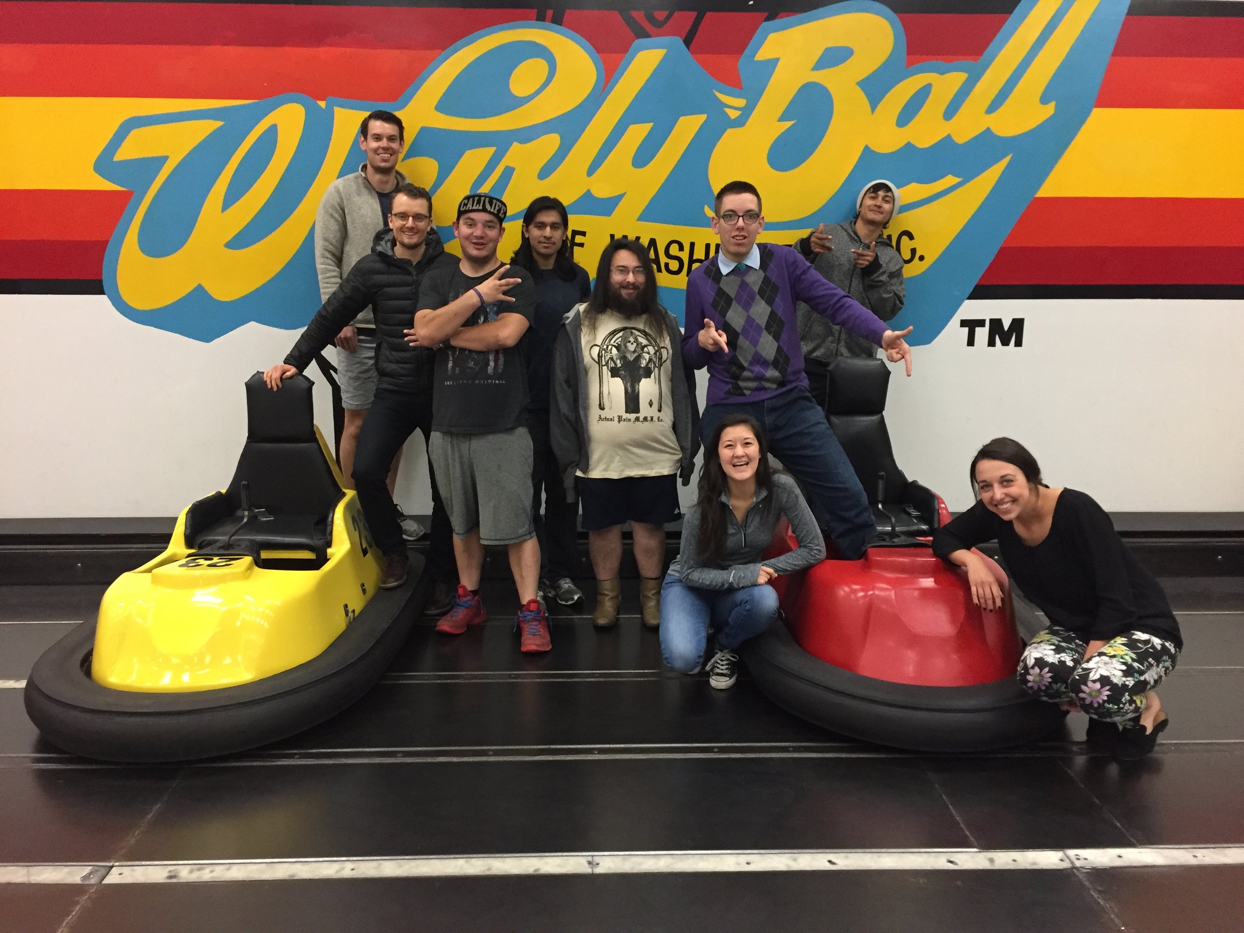 Peter and Gary (two of SYM's beloved volunteers) recently played WhirlyBall with youth! We have the BEST volunteers around!