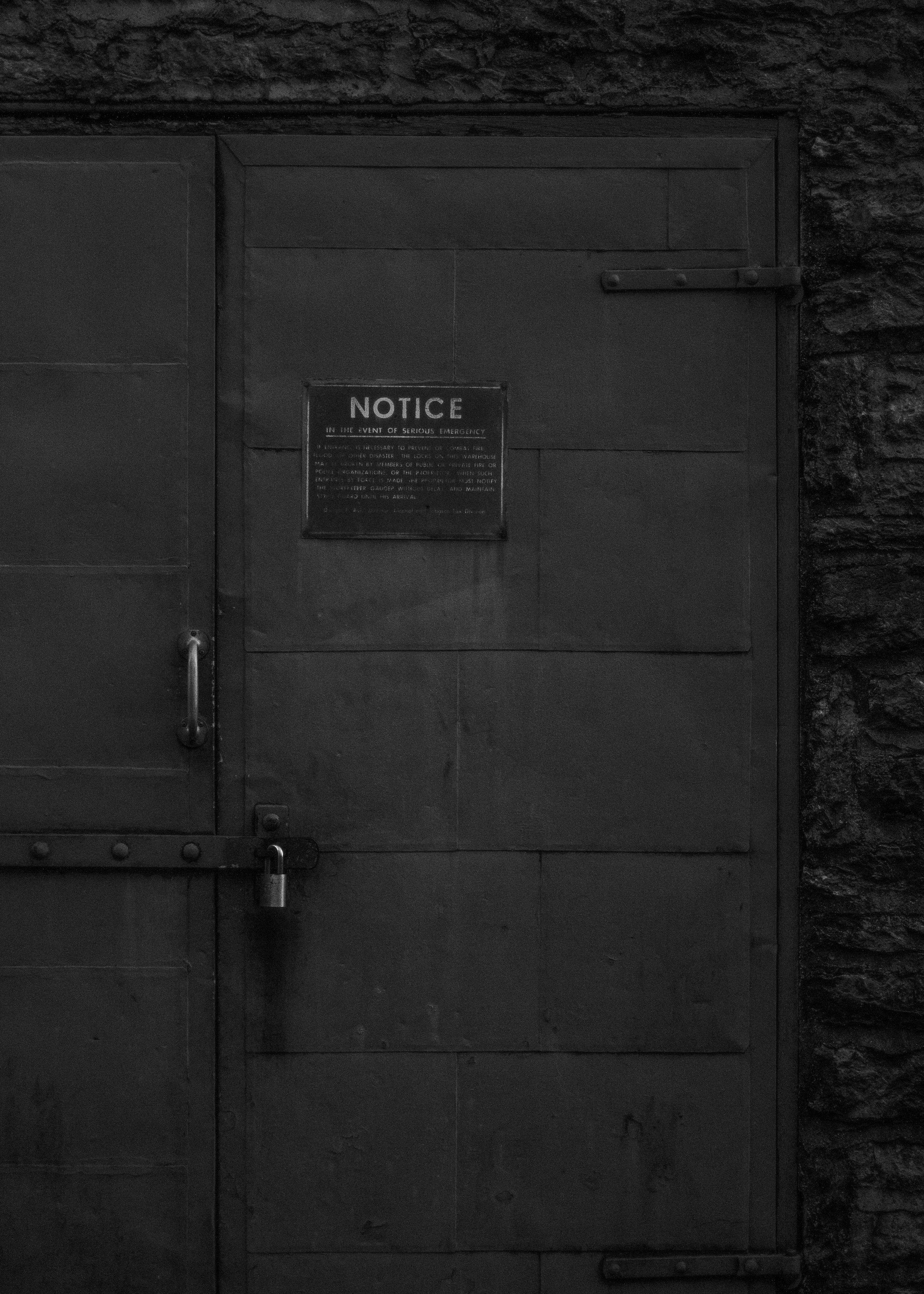Steel Doors at Woodford Reserve.