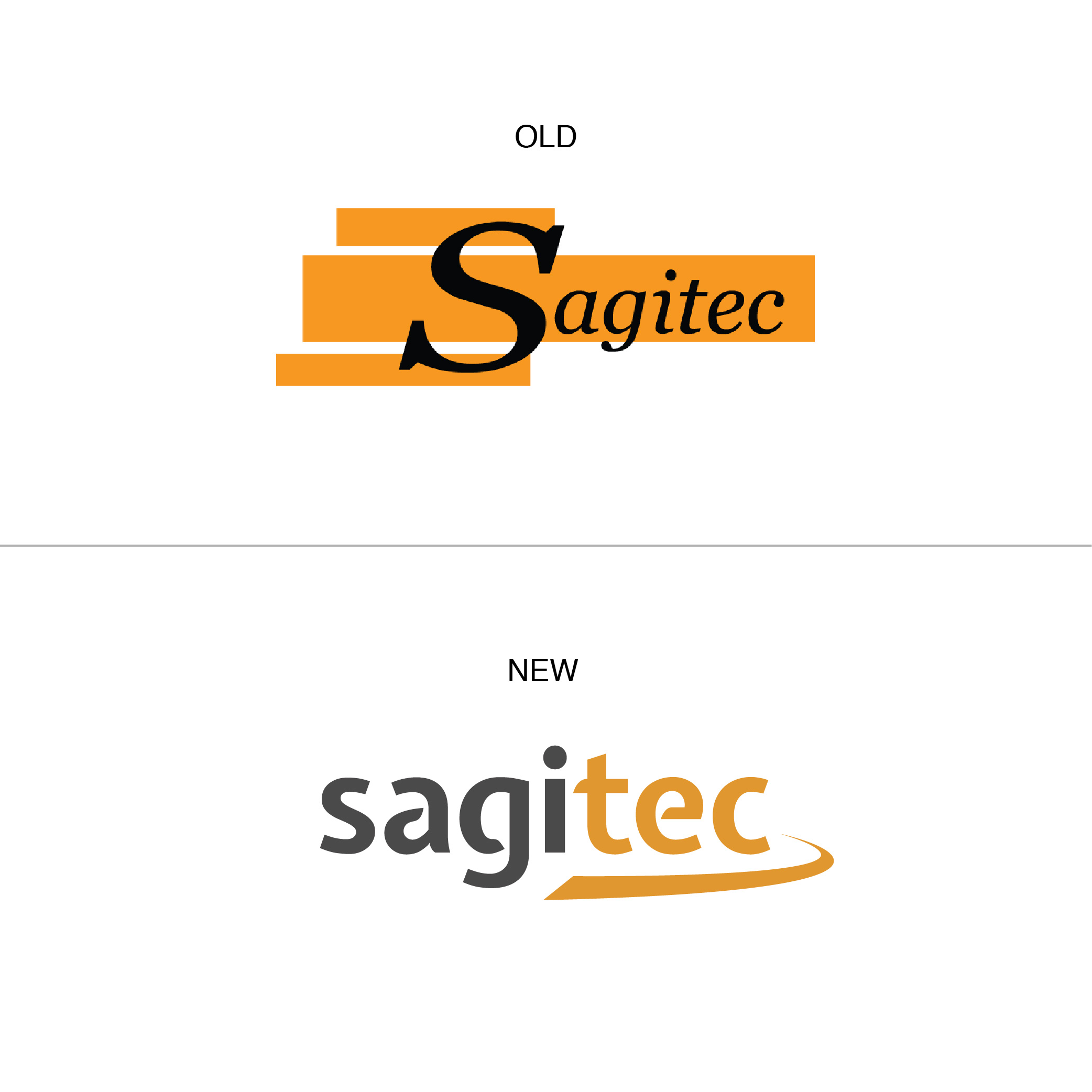 The finalized design outweighed the old logo in several ways. It was now sleek, dynamic, and clearly reflective of Sagitec's values and mission.