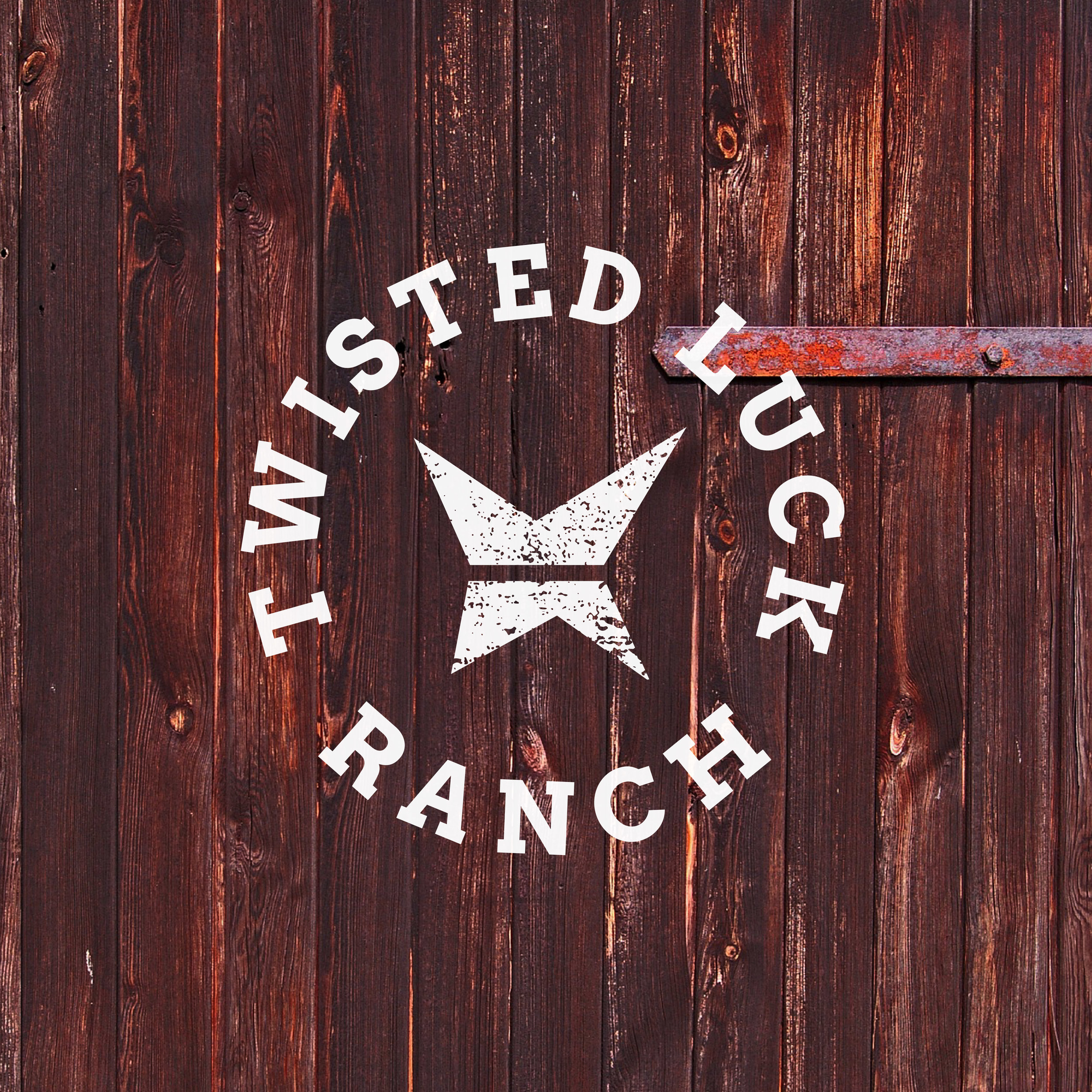 Twisted Luck is a horse boarding ranch located in rural Wisconsin. Through a combination of slab-serif text and an abstracted barbed wire form, this logo helped connect to a younger client base and helped the ranch stand out amongst its competition.