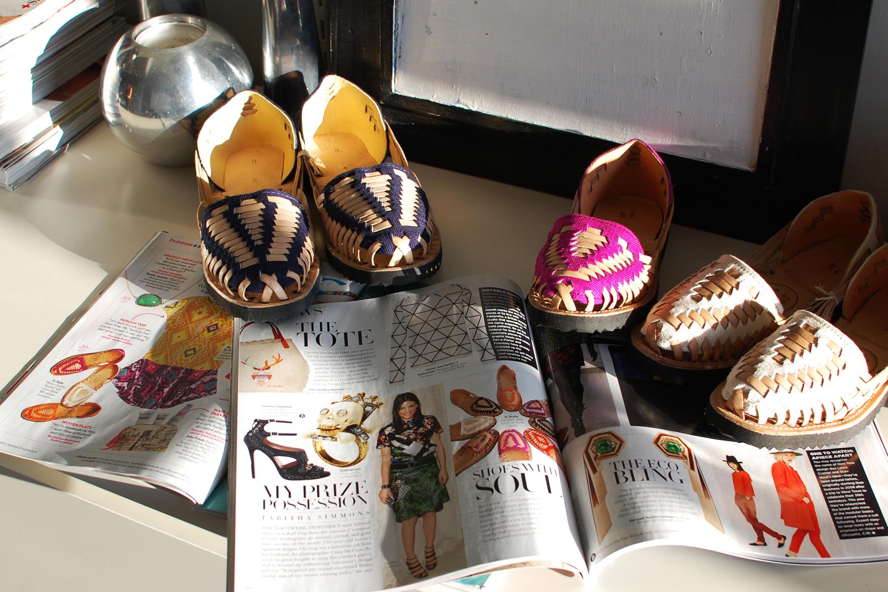IX Style in Harper's Bazaar and People Magazine