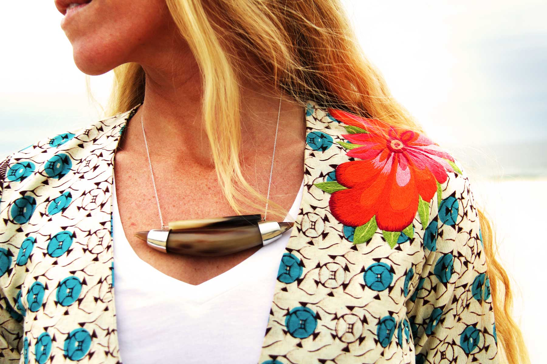 Horn Necklace, Indego Africa