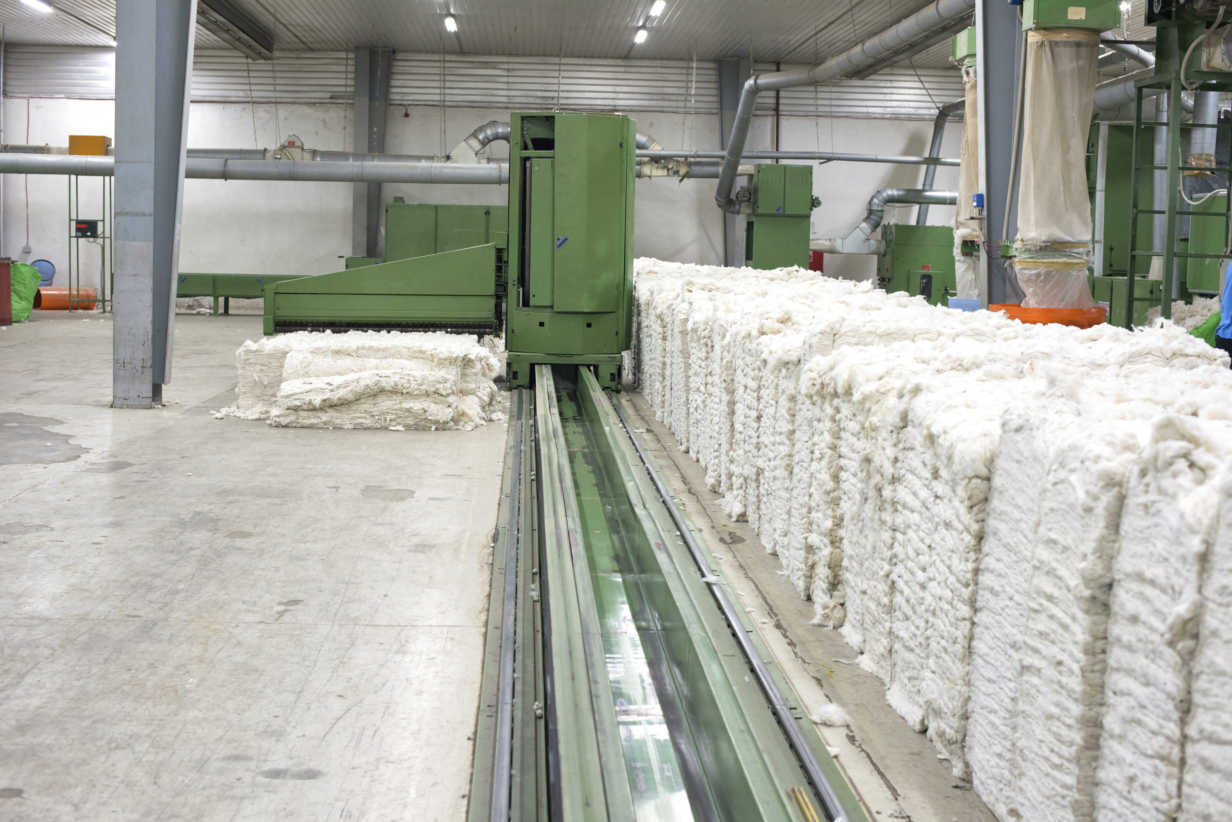 Cotton in Blow Room