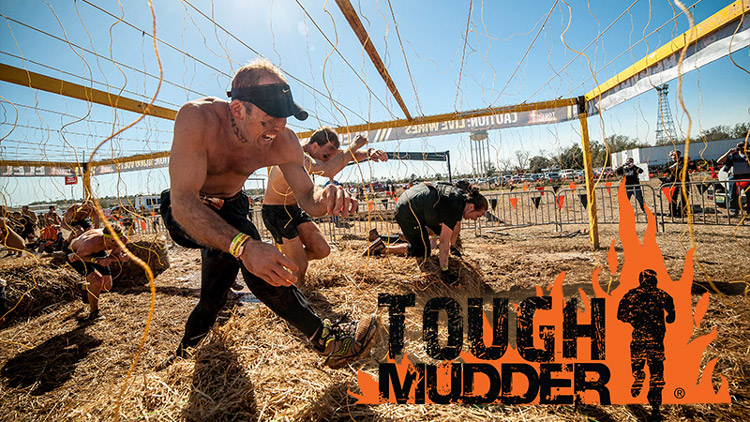 Tough Mudder - Tough mudder also has a series of events to choose from with distances ranging from 3mi, 5mi, and 10mi. These races require teamwork and with the help of your fellow Mudders you'll overcome exciting obstaceles and adrenaline packed challenges!