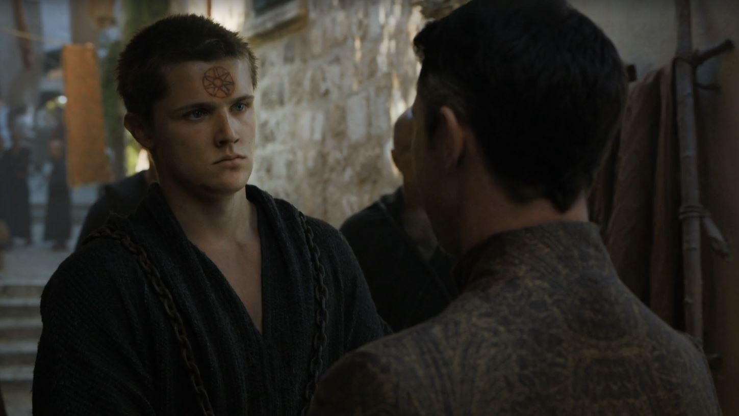 """""""Step carefully, Lord Baelish. You'll find there's little tolerance for flesh peddlers in the new King's Landing."""""""