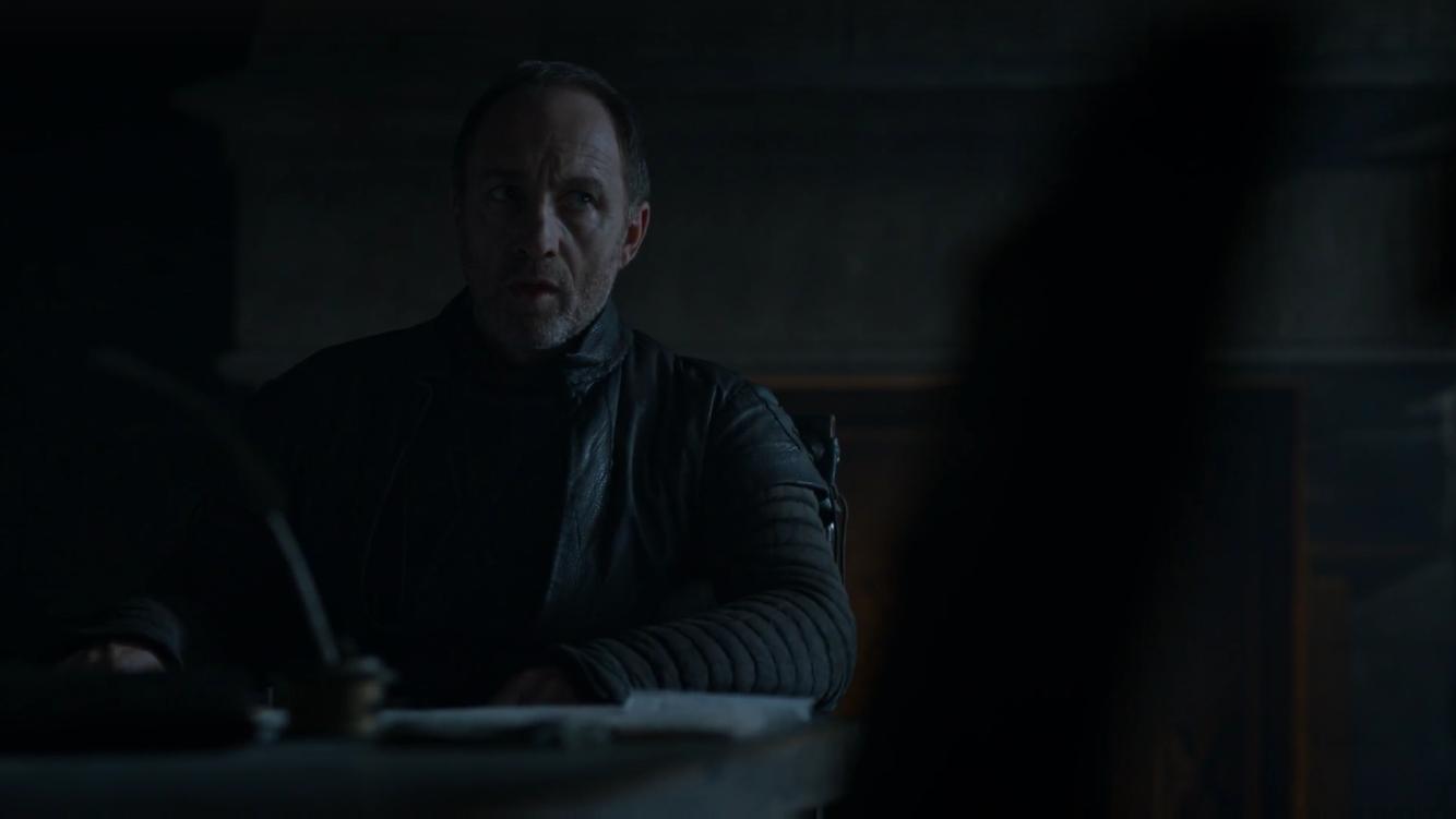 """Half a dozen men? Your best hunters?"""
