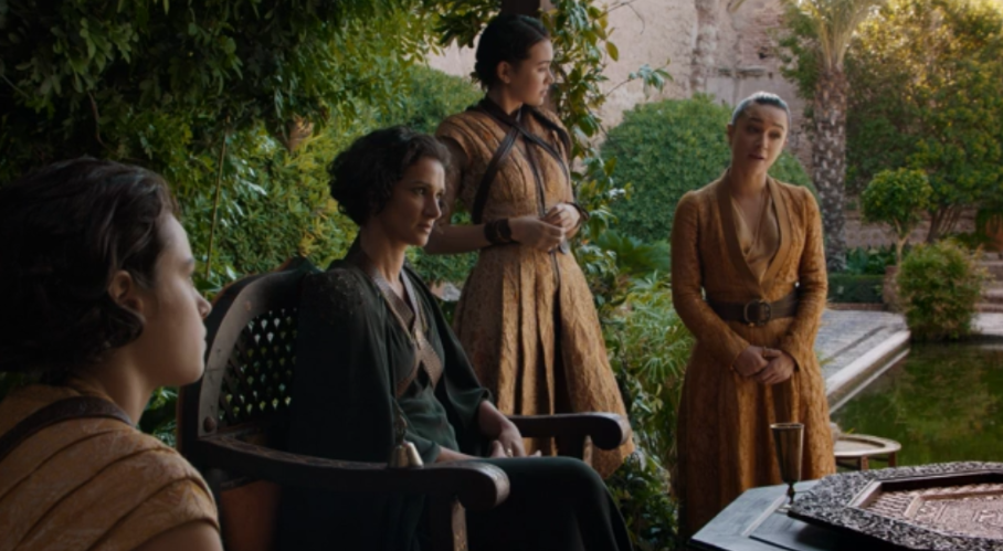 """We invited you to Dorne because we needed your help. You came to Dorne because you needed our help."""