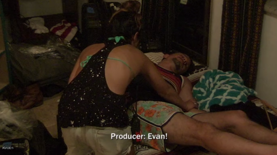 Evan, wake up! You're the character people most love to hate-watch!Seriously, how would they be alerted to this? I call shenanigans.