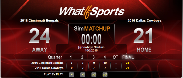 NFL Picks Week 5 Cincinnati Bengals Dallas Cowboys
