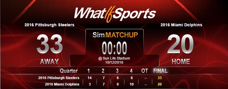 NFL Picks Week 6 Pittsburgh Steelers Miami Dolphins