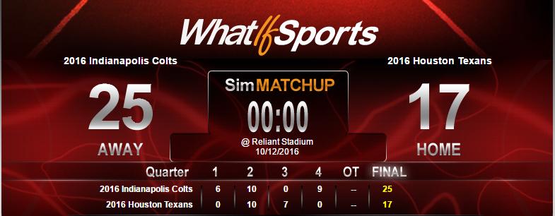 NFL Picks Week 6 Indianapolis Colts Houston Texans