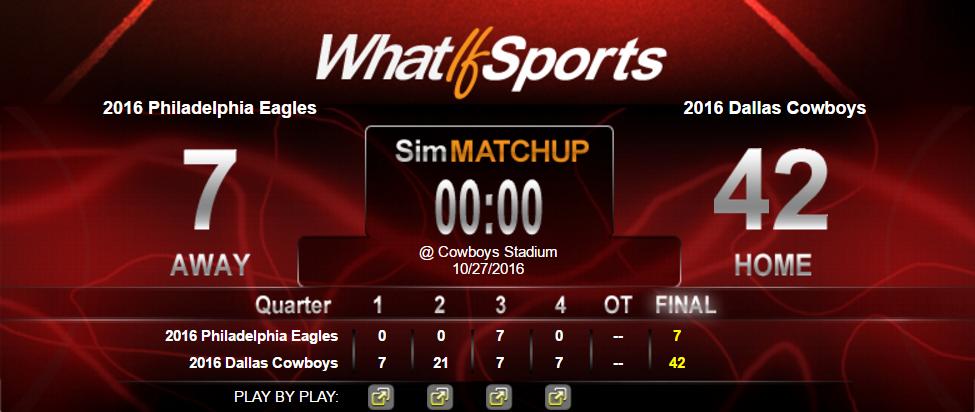 NFL Picks Week 8 Dallas Cowboys Philadelphia Eagles