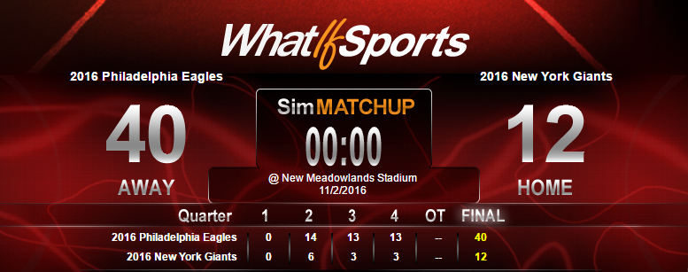 NFL Picks Week 9 Philadelphia Eagles New York Giants