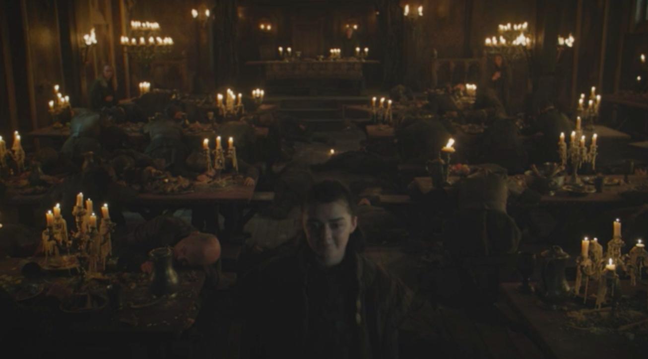 Game of Thrones Recap Season 7 Episode 1 Dragonstone Arya Freys