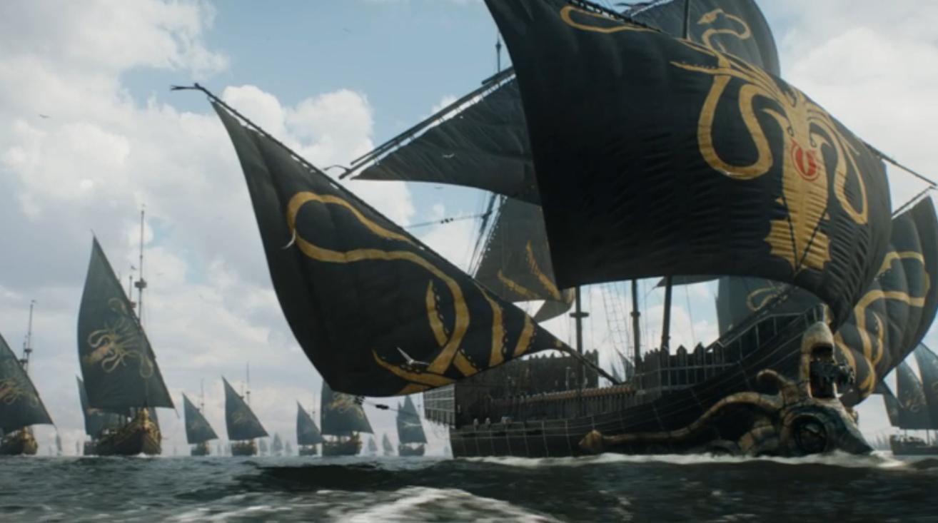 Game of Thrones Recap Season 7 Episode 1 Dragonstone Greyjoy Fleet King's Landing