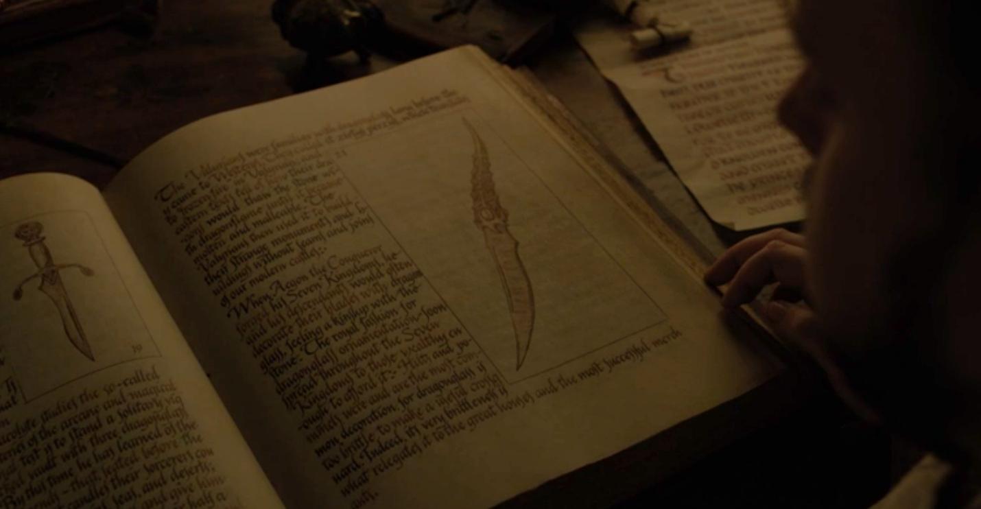 Game of Thrones Recap Season 7 Episode 1 Dragonstone Valyrian Steel Dagger